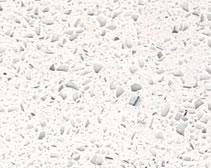 YDL Quartz Stone Silver Star White