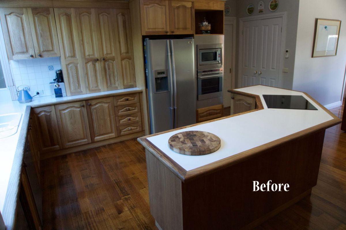 photo of before a kitchen renovations