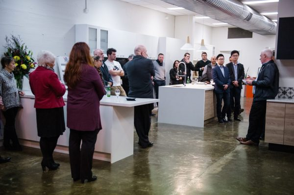 Guests at Richmond Kitchen Showroom Opening