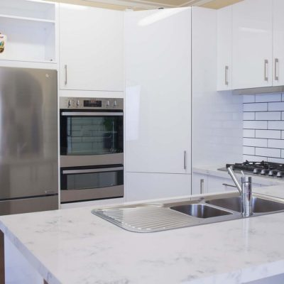 forest Hill white gloss kitchen