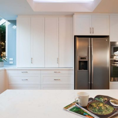 White Templestowe kitchen design
