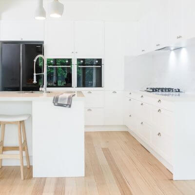 White Kitchen Image