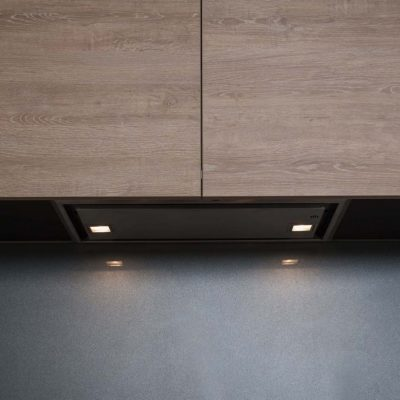 Zesta Kitchens Black & Timber Kitchen