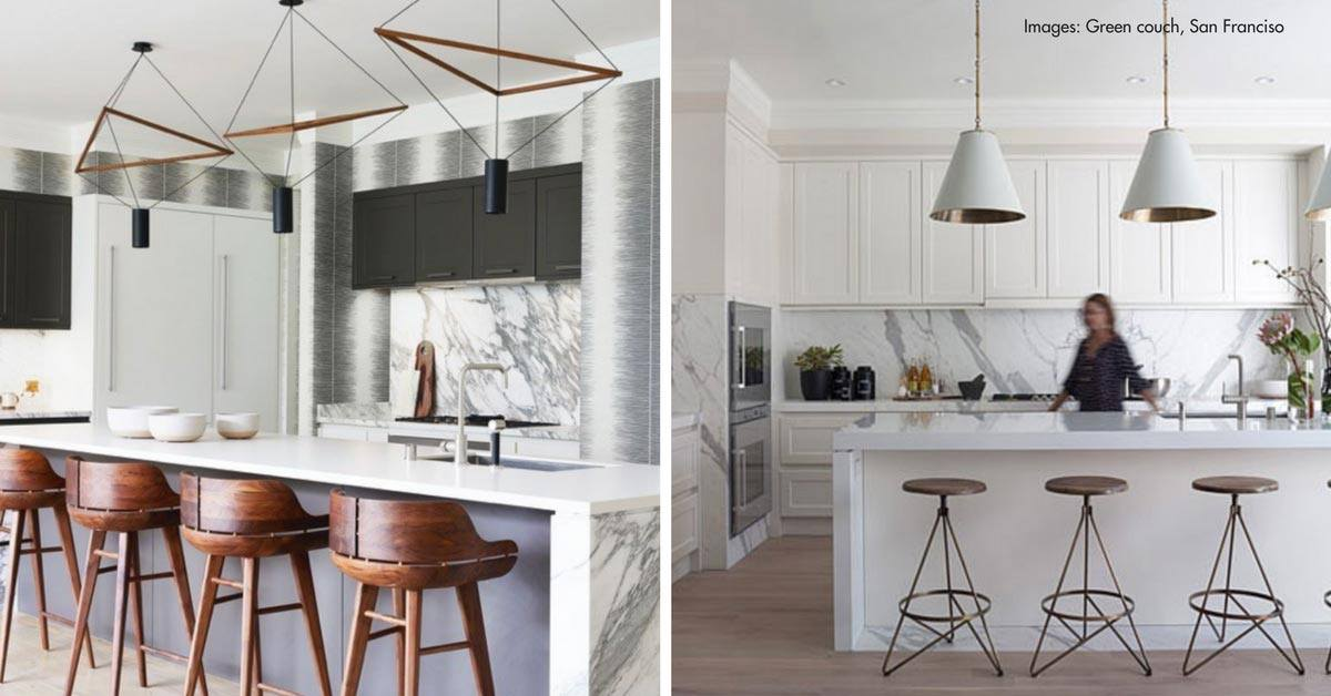 4 Ways to Get the Contemporary Hamptons Look for Your Kitchen