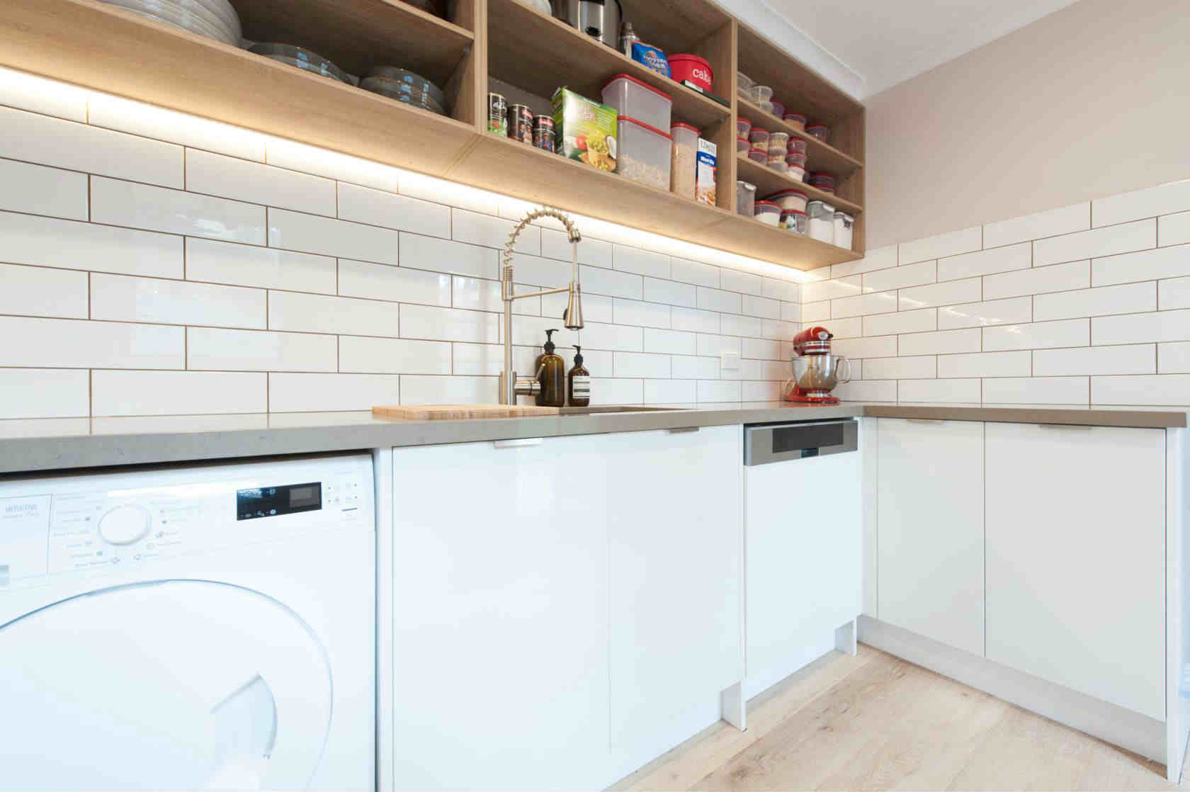 Zesta Kitchens laundry renovation