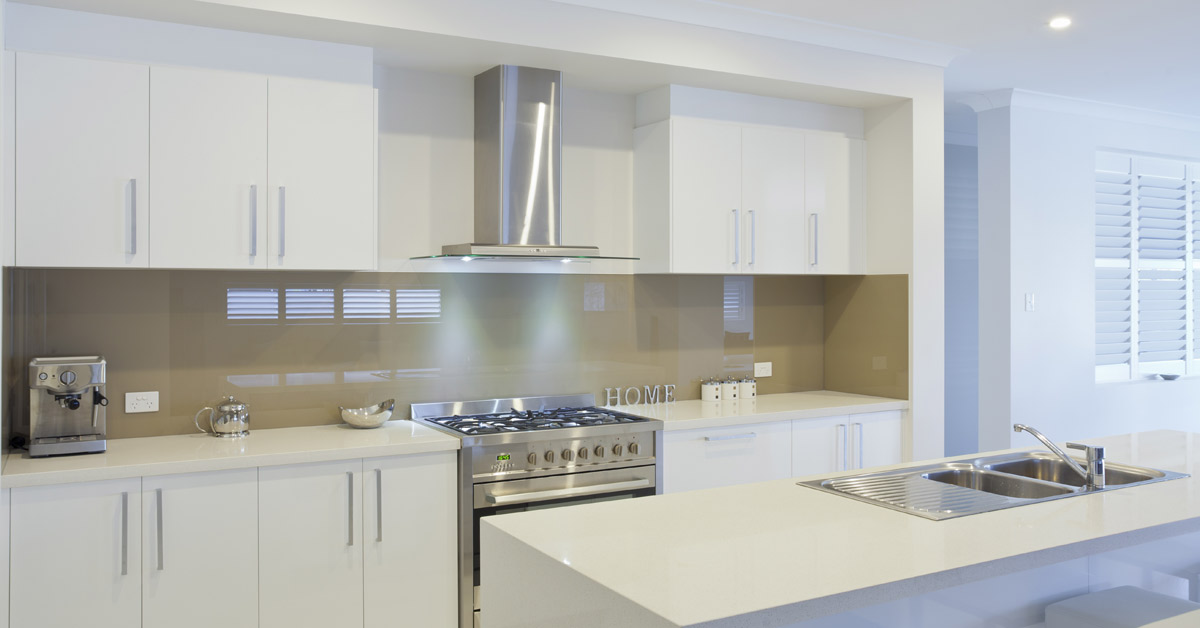 latest trends in kitchens: white kitchen