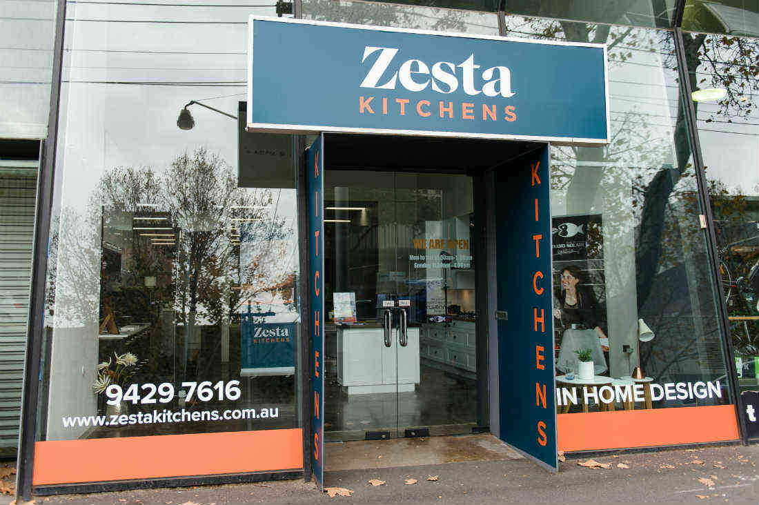 Zesta Kitchens Richmond showroom