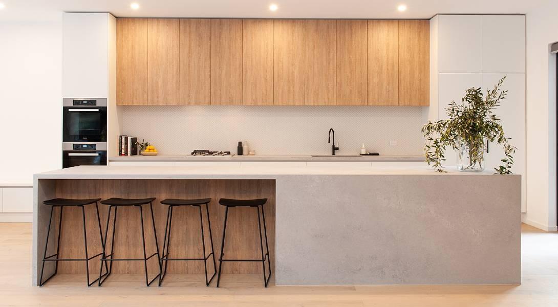 contemporary kitchen malvern East